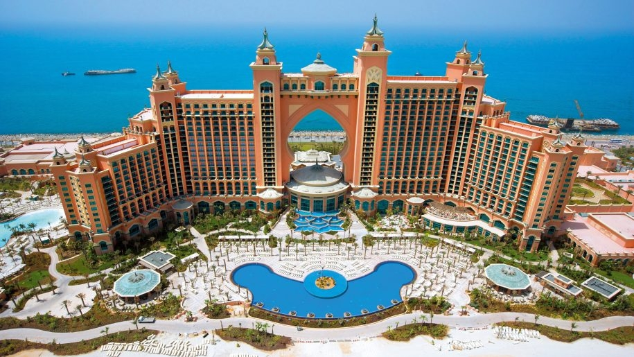 DUBAI NO ATLANTIS THE PALM E ABU DHABI